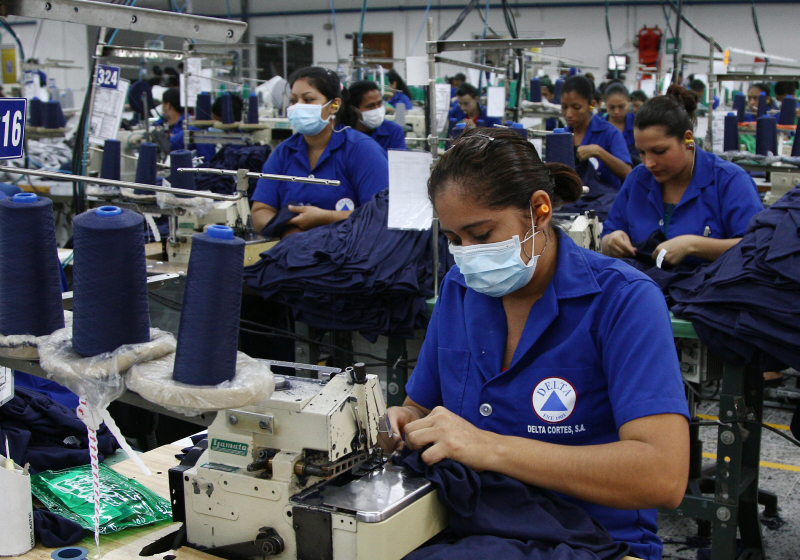 Honduras se convierte en un paraíso para las empresas maquiladoras