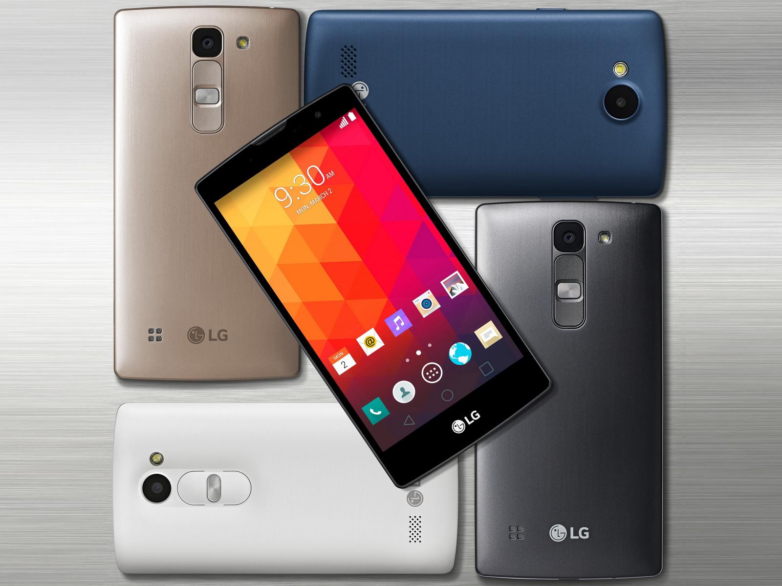 LG presenta su nueva gama de smartphones Magna, Spirit y Leon