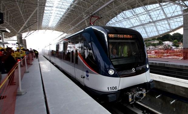 Nuevos trenes del Metro de Panamá empezarán a llegar en abril