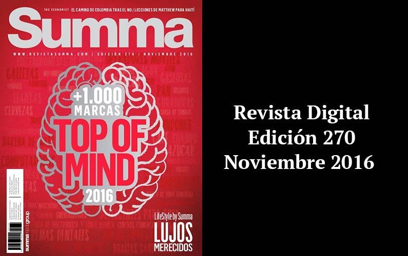 REVISTA SUMMA DIGITAL EDICIÓN 270
