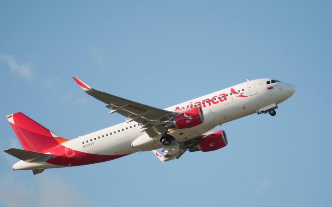 Aerolíneas de Avianca Holdings transporta más de 2,5 millones de pasajeros en junio