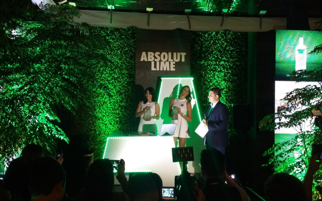 Marcas mundiales introduce absolut Lime en Guatemala