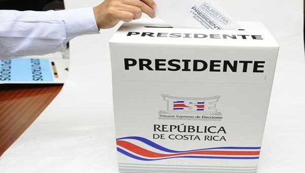 Costa Rica va por la segunda vuelta electoral