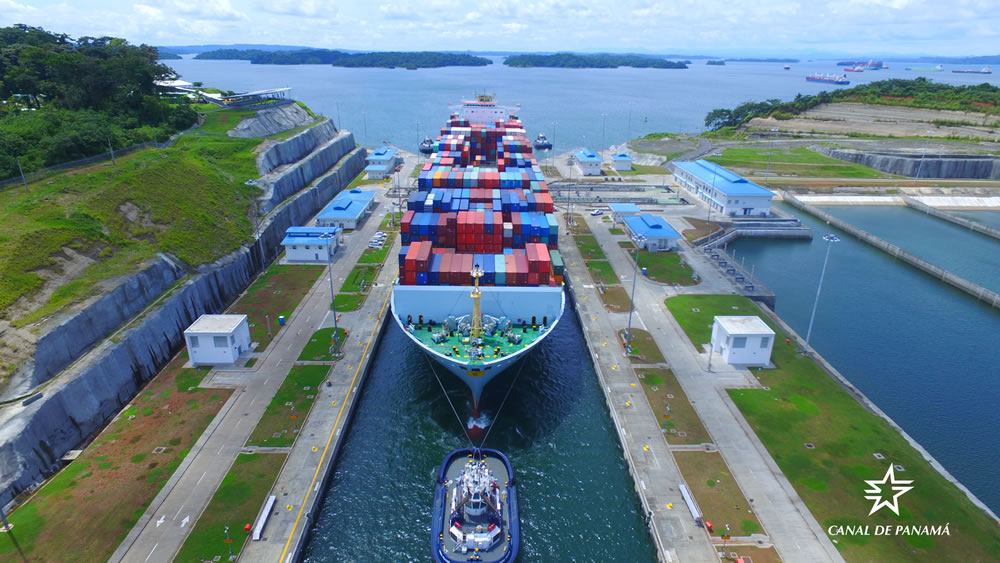 Canal ampliado de Panamá alcanza 3.000 tránsitos neopanamax en 20 meses de operación