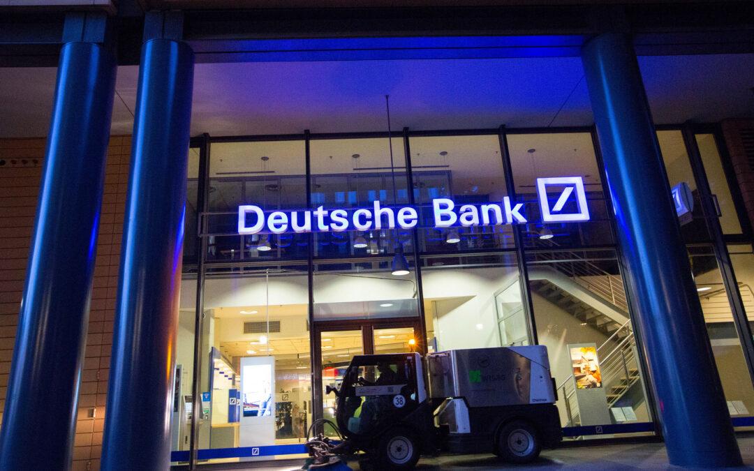 Deutsche Bank dejará de hacer negocios con Trump