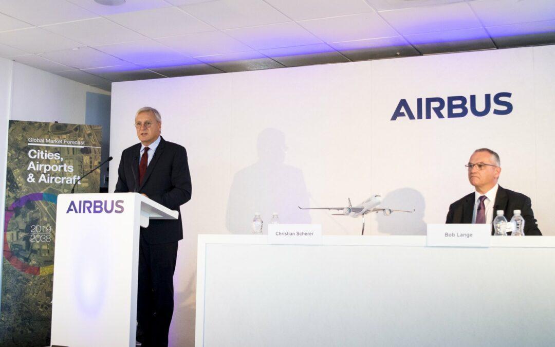 Miles de empleados de Airbus protestan en España por plan de despidos