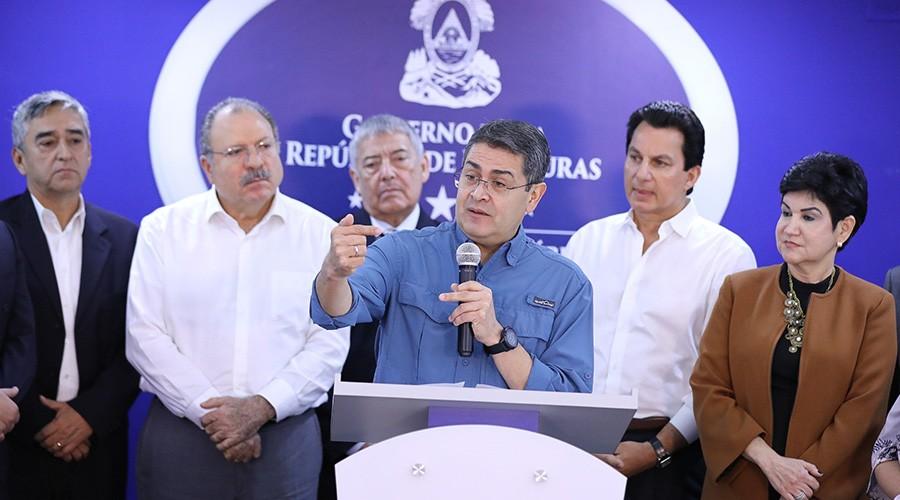 Gobierno de Honduras formula sistema integral de lucha contra la corrupción e impunidad