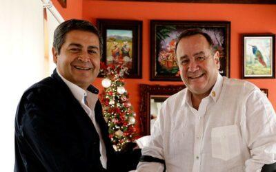 Presidente de Honduras y gobernante electo de Guatemala acuerdan cooperación bilateral y regional