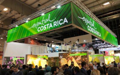 Sector agrícola de Costa Rica exhibe su calidad en principal feria de productos frescos de Europa