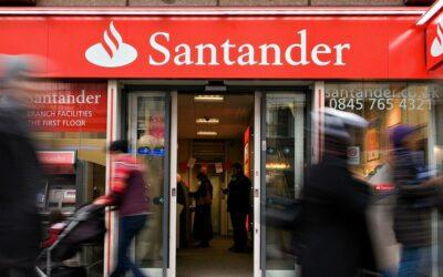 Banco Santander prescindirá de 3.572 empleados y reubicará a 1.500