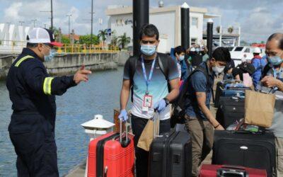 Panamá realizará el primer transbordo ístmico del mundo trasladando tripulantes del Pacífico al Atlántico