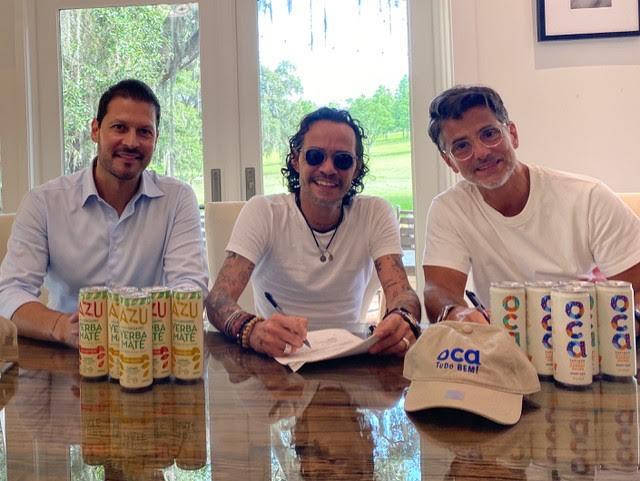 Marc Anthony y Magnus media anuncia alianza con Beliv, para crear y distribuir marcas de bebidas en todo el mundo
