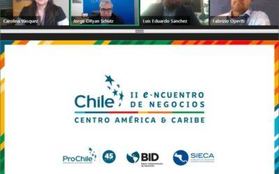 PROCHILE busca ayudar en la crisis sanitaria uniendo a144 importadores en el II e-ncuentro de Negocios Centroamérica & Caribe