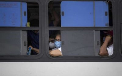Panamá moviliza hacia la frontera a nicaragüenses que quieren volver a su país