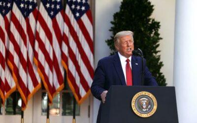 Trump reconoce su derrota electoral ante la amenaza de una destitución