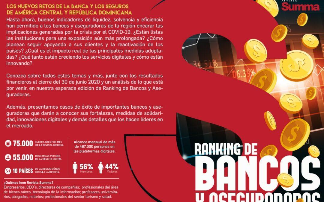 Ranking de bancos y aseguradoras Sinopsis Octubre 2020