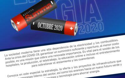 Energía|Sinopsis Octubre 2020