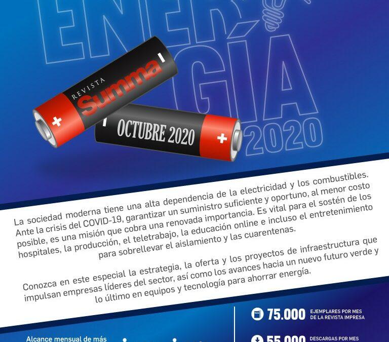 Energía Sinopsis Octubre 2020