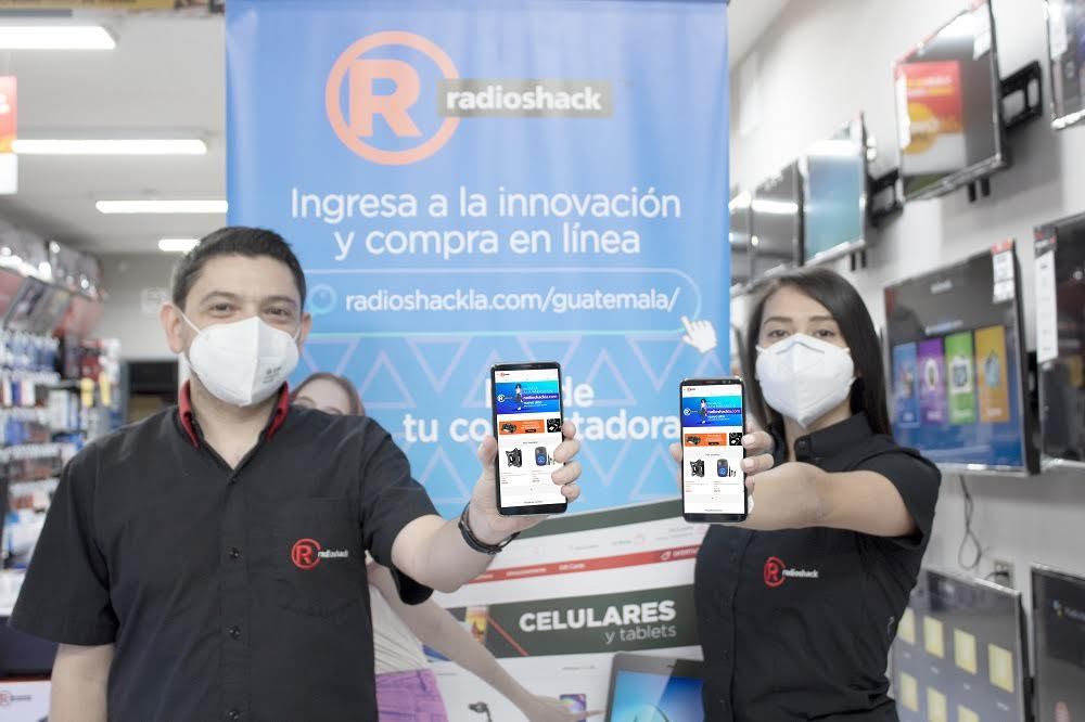 Radio Shack Guatemala innova al abrir su tienda virtual