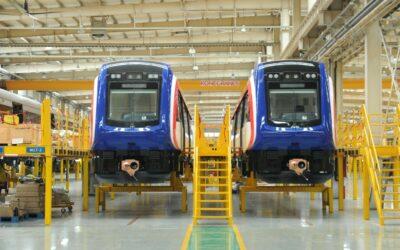 Costa Rica se alista para recibir desde China segundo lote de trenes a Puerto Caldera