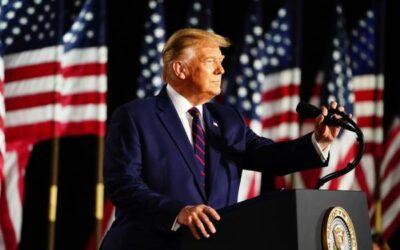 Trump se aferra a la vía legal: «Nunca dejaré de luchar» por la reelección
