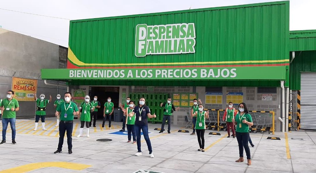 Despensa Familiar inaugura dos tiendas en Guatemala