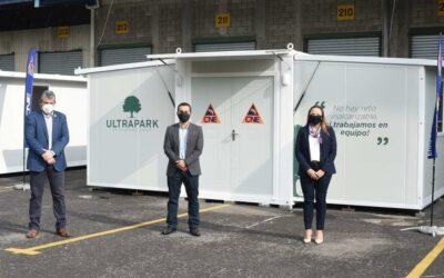 ULTRAPARK dona dos unidades móviles en Costa Rica para atender la emergencia del COVID-19