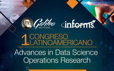 Guatemala: Universidad Galileo organiza el I Congreso Latinoamericano en DataSciencee investigación de operaciones
