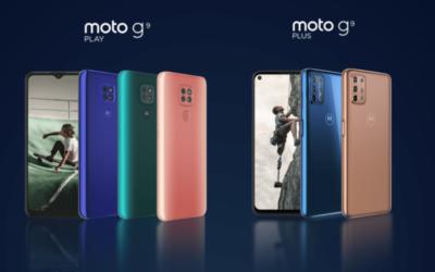Moto g9 play y moto g9 plus llegan a Guatemala