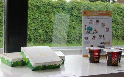 Arcos Dorados traza ruta sostenible de McDonald's con incorporación de empaques sustentables