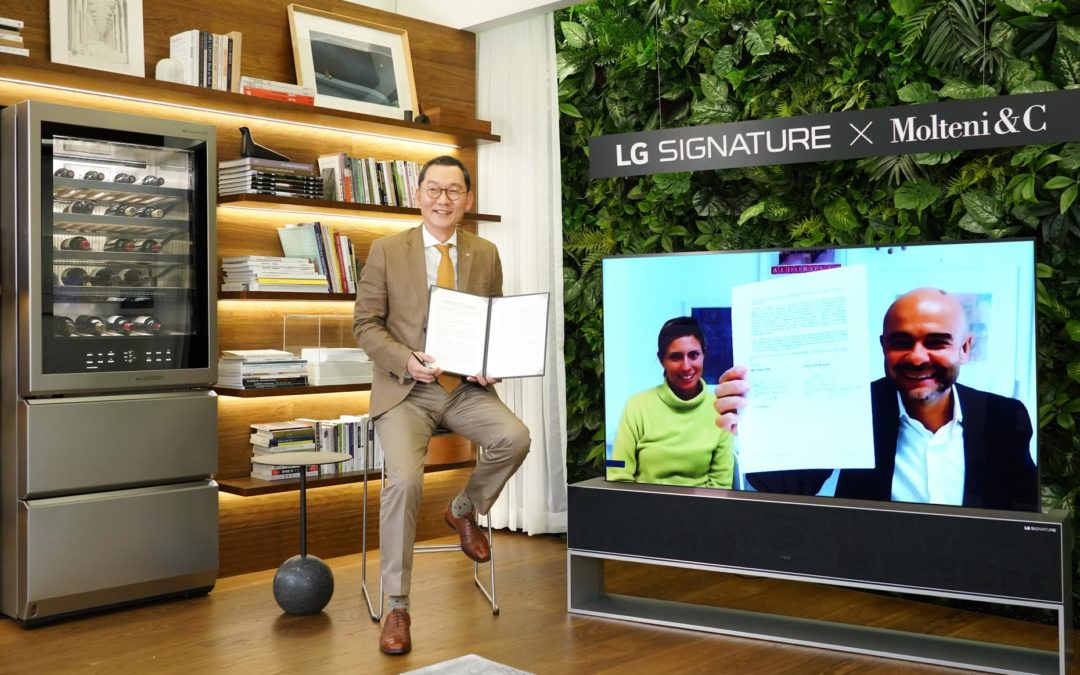 LG y Luxury Italian Lifestyle acuerdan desarrollar futuros proyectos en conjunto