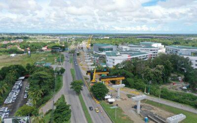 Panamá: Avanzan obras del metro de Panamá sobre la salida del Corredor Sur