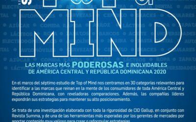 Top of Mind 2020 | Sinopsis Octubre