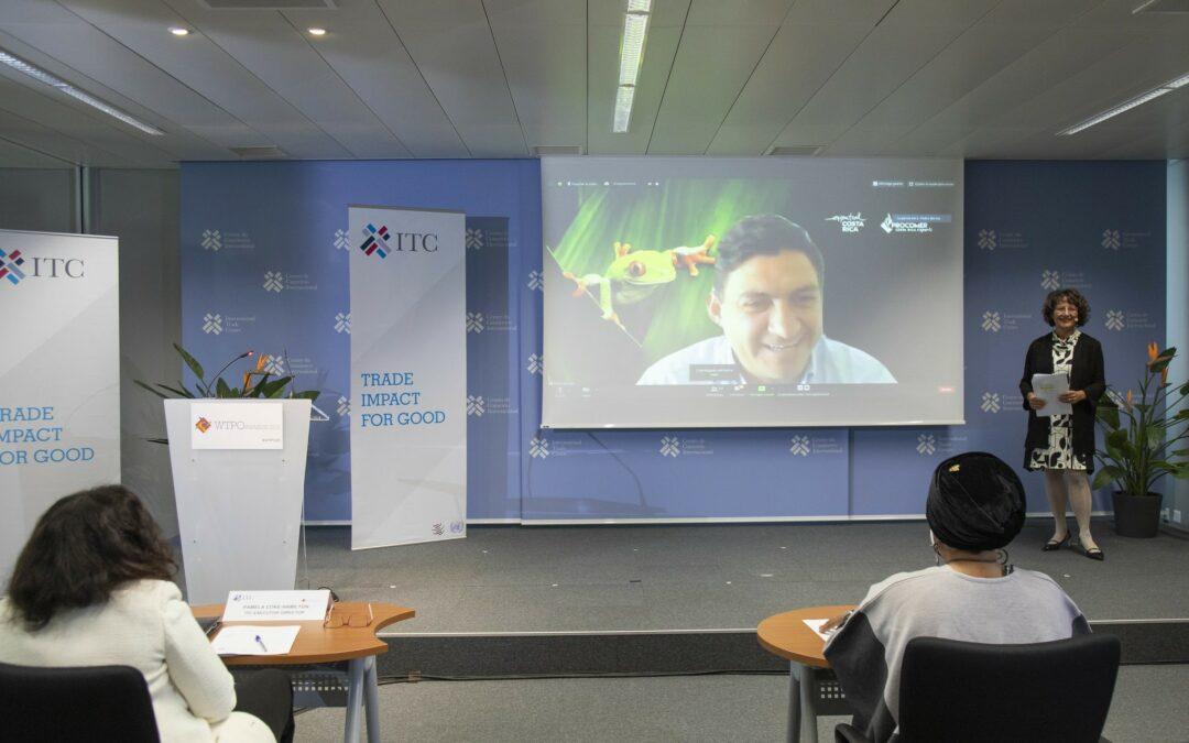 Costa Rica: PROCOMER obtiene premio internacional por la mejor iniciativa de comercio inclusivo y sostenible del mundo