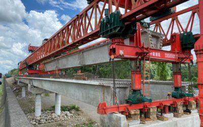 Costa Rica: 10 nuevos puentes en ruta 32 avanzan más de 90% en construcción