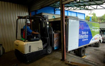 Empresas donan cerca de US$80.000 en productos de primera necesidad al Banco de Alimentos de Costa Rica