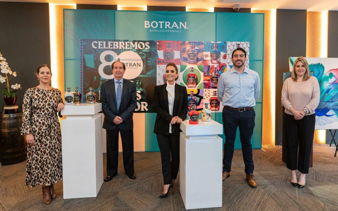 Ron Botran celebra 80 años de estar presentes en el mercado guatemalteco