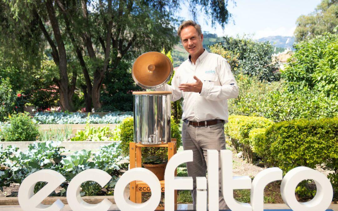Ecofiltro presenta nuevo miembro de la familia que brillará en hogares guatemaltecos