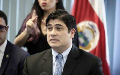 El 66 % de los costarricenses rechaza la gestión del Gobierno, según una encuesta