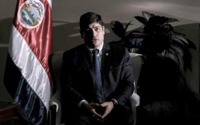 Presidente de Costa Rica felicita a Joe Biden y aboga por fortalecer las relaciones de amistad y cooperación con EE.UU.