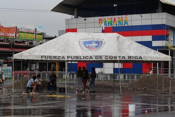 Costa Rica refuerza vigilancia en la frontera con Panamá ante amenaza de bloqueo