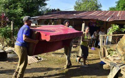OIM entrega ayuda humanitaria a afectados por Eta en Centroamérica