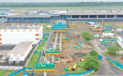 Panamá: Aeropuerto de Tocumen anuncia montaje de vigas 'U' en ramal de la línea 2 del metro