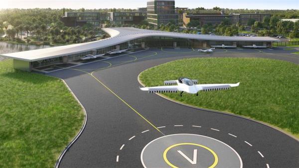 Orlando tendrá el primer puerto para taxis voladores en EE.UU.