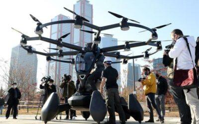 Seúl ya sueña con taxis voladores para 2025