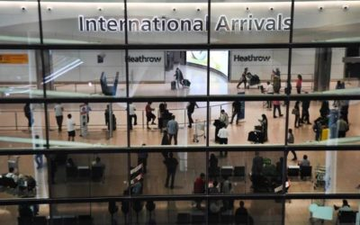 Llegadas de turistas caerán un 50 % globalmente en 2020 por la pandemia