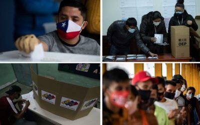 Latinoamérica llega a 2021 con un decisivo e intenso calendario electoral