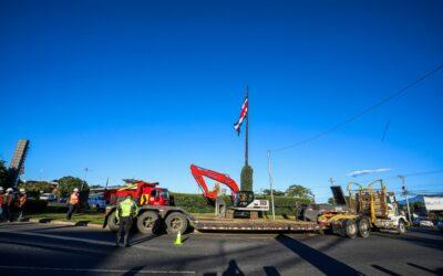 Costa Rica: Arranca inicio de obras de paso a desnivel en Rotonda La Bandera