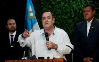 Presidente y el vicepresidente de Guatemala ponen fin a sus disputas