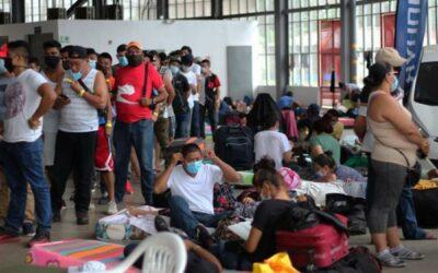 Cada vez más nicaragüenses retornan a su país en medio de la pandemia